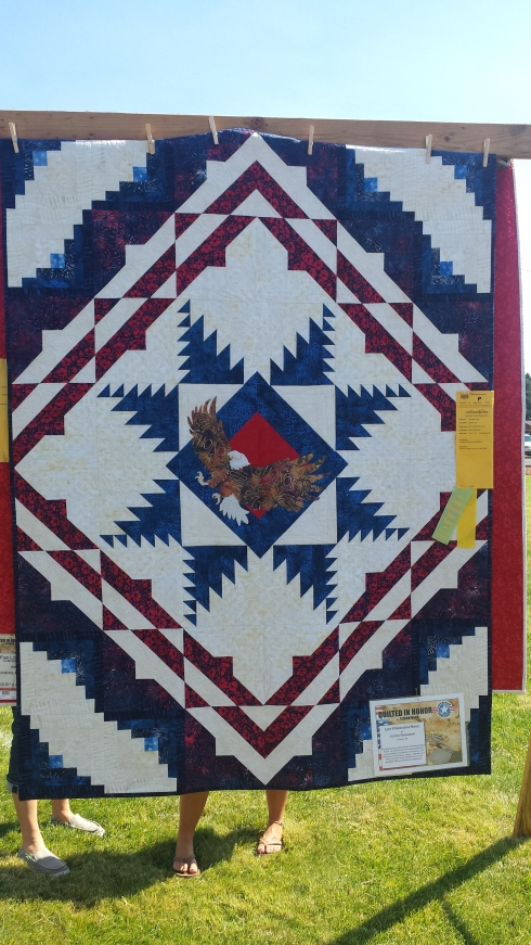 sister's quilt show