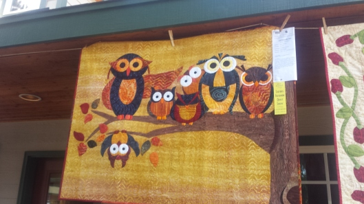 another Owl quilt!