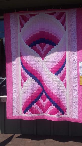 pink ribbon for cancer survivors