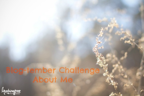 blog-tember challenge about me