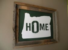 oregon home print