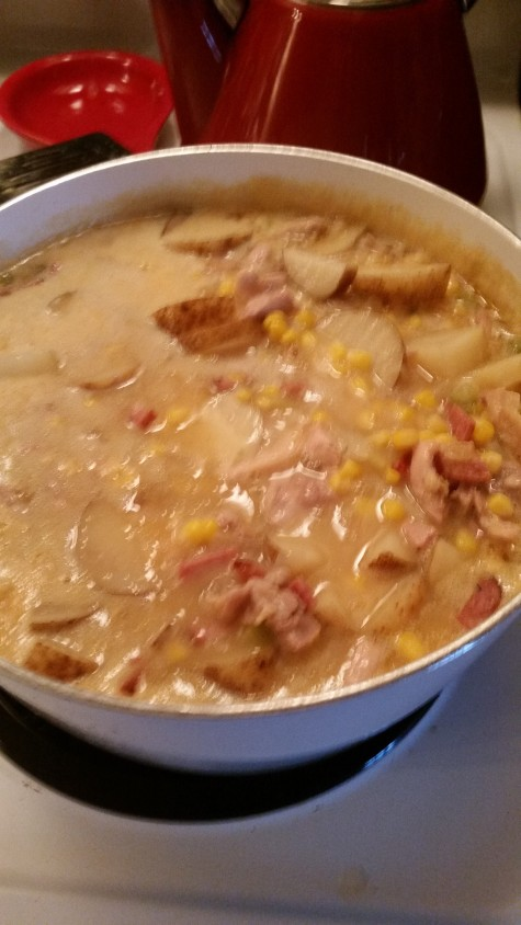 southwest corn chowder