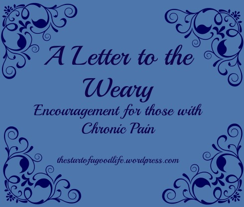letter to the weary