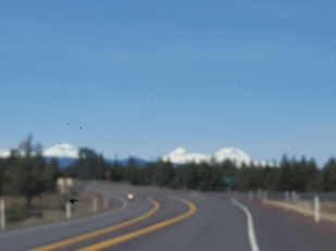 a blurry shot of the mtns!