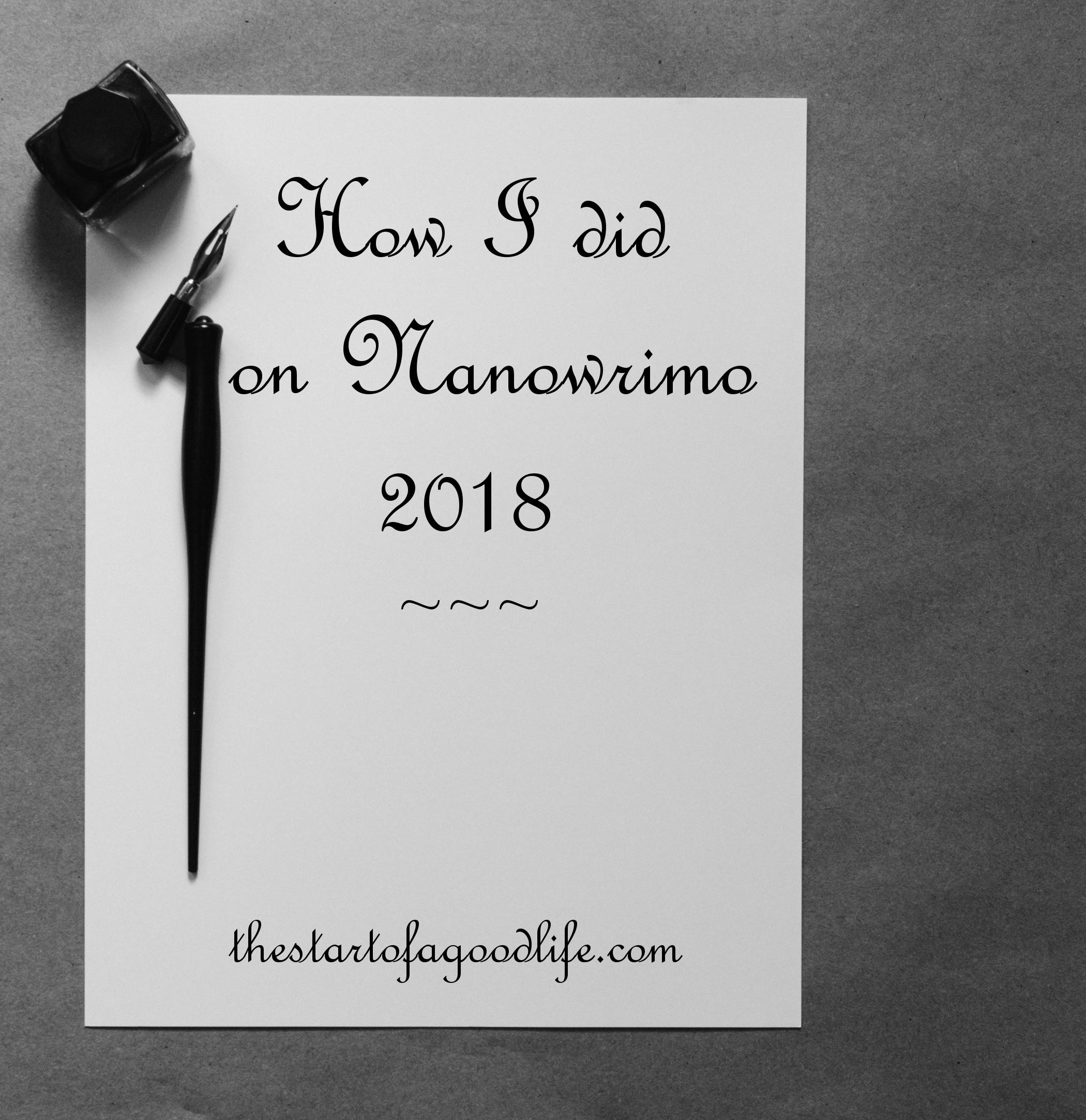 nano2018recap